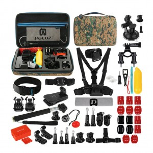 53 in 1 GoPro Accessories Combo Kit with Storage Case
