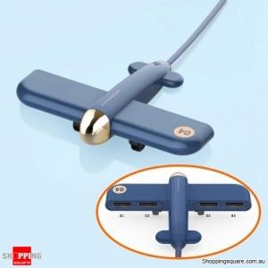 Innovative WWII Warplane Aircraft Shaped 4-Port USB Hub for Windows Mac Linux