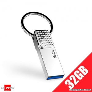 Netac U276 Full Metal USB 3.0 Flash Drive with Keychain 32GB