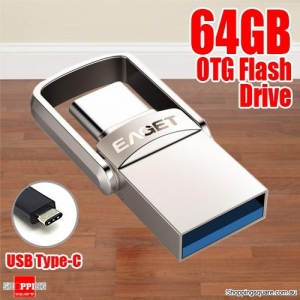 EAGET CU20 64GB Waterproof Shockproof USB 3.1 Type-C USB 3.0 OTG Dual Flash Drive