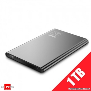"EAGET G70 1TB Portable 2.5"" USB 3.1 Type-C External Hard Drive Disk - Black"