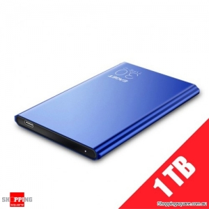 "EAGET G70 1TB Portable 2.5"" USB 3.1 Type-C External Hard Drive Disk - Blue"