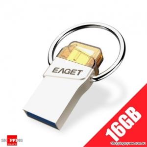 EAGET CU66 Shockproof Waterproof Type-C & USB 3.0 Dual Flash Drive - 16GB
