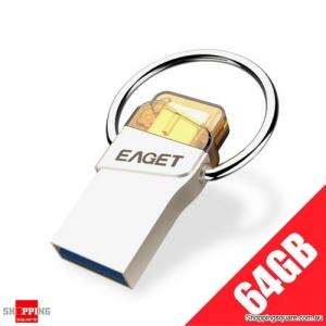 EAGET CU66 Shockproof Waterproof Type-C & USB 3.0 Dual Flash Drive - 64GB