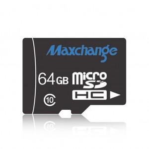 Maxchange Class 10 TF Micro SD Memory Card Up to 90MB/s - 64GB