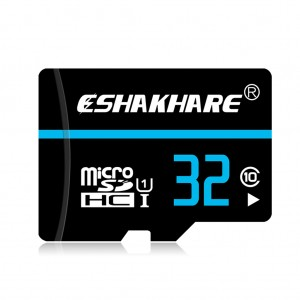 ESHAKHARE 32GB Class 10 High Speed Micro SD Card with Card Adapter