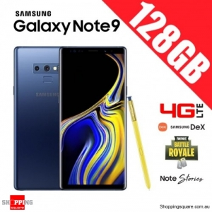 Samsung Galaxy Note 9 128GB 4G LTE Dual Sim Unlocked Smart Phone Ocean Blue
