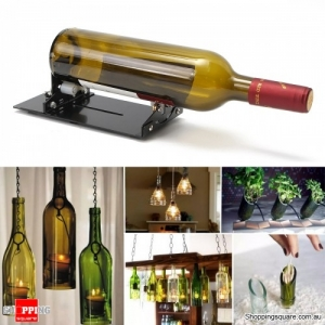 DIY Glass Bottle Cutter Machine Cutting Tool Craft Cut Wine Jar Beer Recycle