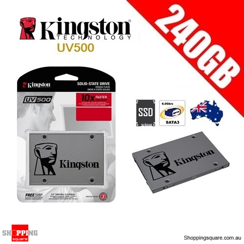 Kingston UV500 240GB Solid State Drive SSD SATA 3 PC Computer Laptop Notebook Storage