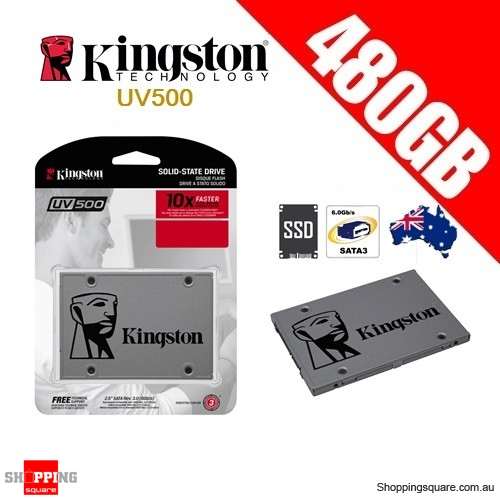 Kingston UV500 480GB Solid State Drive SSD SATA 3 PC Computer Laptop Notebook Storage
