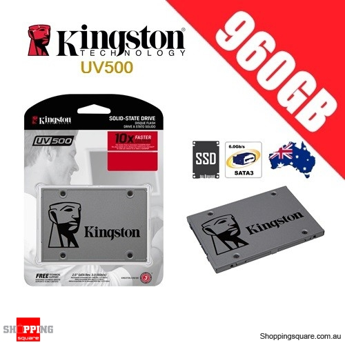 Kingston UV500 960GB Solid State Drive SSD SATA 3 PC Computer Laptop Notebook Storage