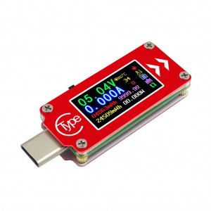 RD TC64 Type C Colour LCD Display Voltmeter Ammeter Current Voltage Tester