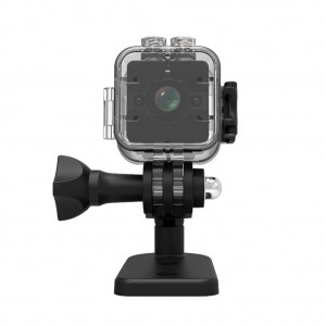 SQ12 1080P Waterproof Mini Sports Action Camera 155 Degree Wide Angle