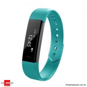 ID115HR Smart Watch Bracelet Fitness Heart Rate Tracker - Green
