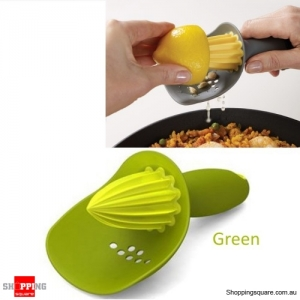 Creative Manual Lemon Orange Juicer Fruit Hand Press Squeezer Tool-Green