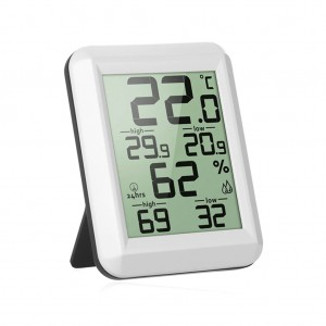 Digital LCD Display Thermometer Hygrometer for Indoor Home