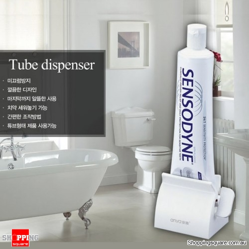 Creative Bathroom Toothpaste Tube Squeezer Stand Multifunction Tube Dispenser