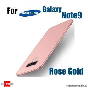 Note 9 Slim Back Cover Hard PC Protective Case For Samsung Galaxy Note 9-Rose Gold