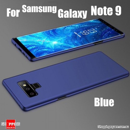 Note 9 Slim Back Cover Hard PC Protective Case For Samsung Galaxy Note 9-Blue