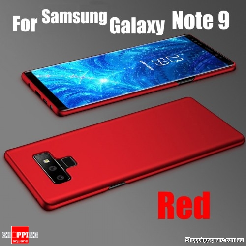 Note 9 Slim Back Cover Hard PC Protective Case For Samsung Galaxy Note 9-Red