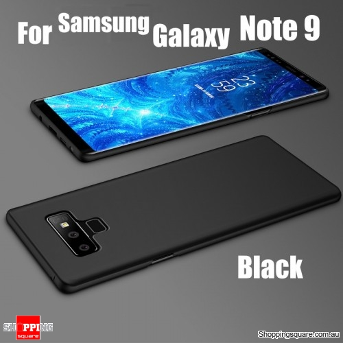 official photos 66863 11121 Bakeey Slim Anti Fingerprint Hard PC Protective Case For Samsung Galaxy  Note 9-Black - Shoppingsquare Australia