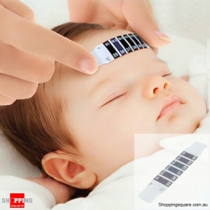 Super Thin Baby Forehead Strip Thermometer Fever Temperature Test