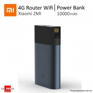 Xiaomi ZMI M885 Router Wireless Wifi Router 4G with QC2.0 10000mAh Power Bank for Mobile Phone