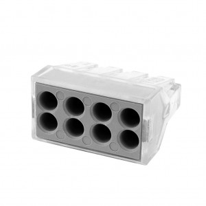 PCT-108 100pcs 8-Port Wire Connector