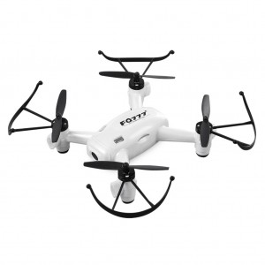 FQ10A Rechargeable RC Quadcopter Drone with Wifi Camera 720P - White