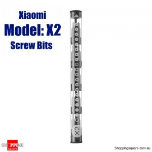 XIAOMI Mijia Wowstick Multi-Function 4mm S2 Steel Screwdriver Screw Bits Set- X2