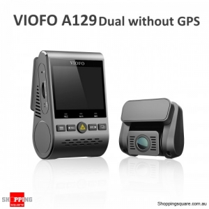 "VIOFO A129 2"" 1080P Duo Dual Camera Double Recording With Rear Camera Car DVR Without GPS"