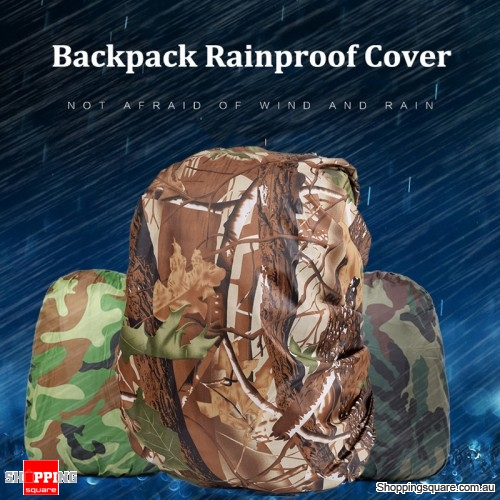 30-40L Backpack Rain Cover Waterproof Protective Bag Cover Camping Dust  Rainproof Protector - Jungle camouflage - Online Shopping   Shopping  Square.COM. b1d8233f2fa9d