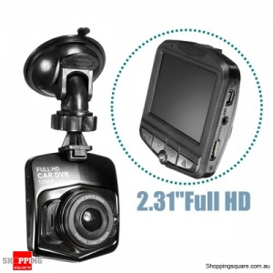 "iMars 2.31"" Full HD 1080P Car DVR Vehicle Camera Video Recorder LCD Dash Cam - Black"