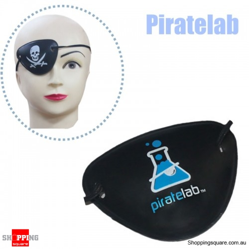 Halloween Pirate Eye Patch Costumes Pirates of Accessories Cyclops Goggle crossbones - Piratelab