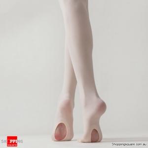Convertible Tights Dance Stockings Ballet Pantyhose - Nude Colour