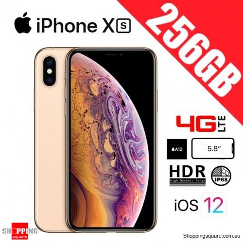 Apple iPhone Xs 256GB 4G LTE Unlocked Smart Phone Gold