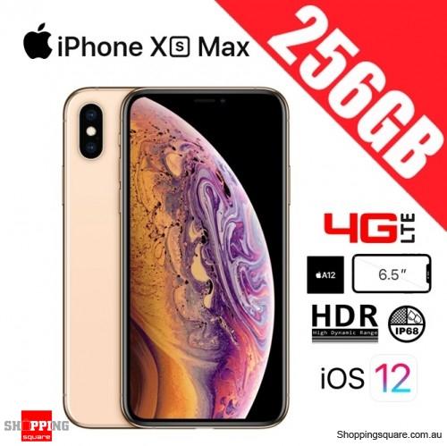 Apple iPhone Xs Max 256GB 4G LTE Unlocked Smart Phone Gold