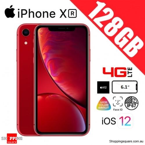 Apple iPhone XR 128GB 4G LTE Unlocked Smart Phone Red