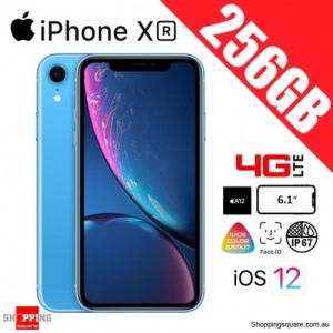Apple iPhone XR 256GB 4G LTE Unlocked Smart Phone Blue