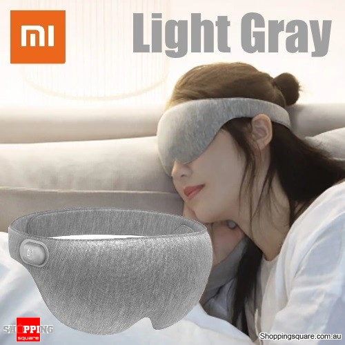 Xiaomi Anti Fatigue USB Hot Steam Rest Eye Mask Patch for Travel Airplane Eyeshade Cover Blindfold - Light Gray