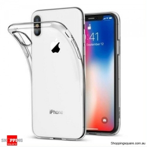 Crystal Clear Soft Thin Cover For Apple iPhone XS