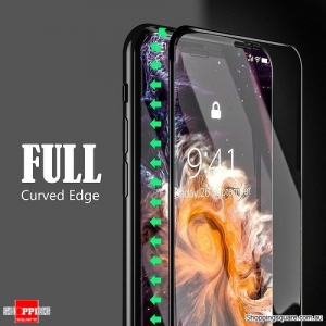 5D Arc Edge Full Covered 9H Tempered Glass Screen Protector For Apple iPhone XR