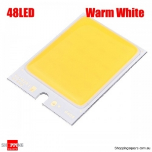 4W 48 LED COB LED Chip 480mA For DIY DC 12V no dizzy - Warm White