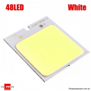 4W 48 LED COB LED Chip 480mA For DIY DC 12V no dizzy - White