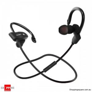 Splash Proof Stereo In-ear Hock Bass Bluetooth 4.1 Earphone with Mic Sport Running - Black