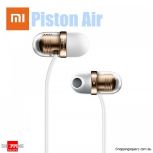 Xiaomi Piston Air Capsule 45° Semi-in-ear Headphone Earphone Wired Control with Mic - Gold
