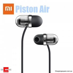 Xiaomi Piston Air Capsule 45° Semi-in-ear Headphone Earphone Wired Control with Mic - Black