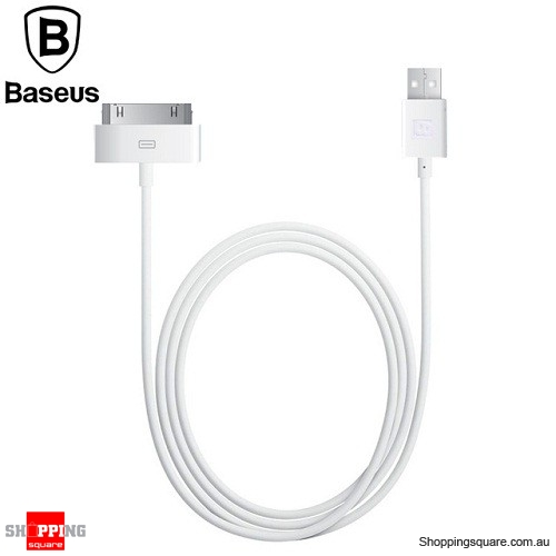 be0753ef382 Baseus 30Pin USB Data Charging Cable For Apple iPhone 4 4S 3GS 3G iPad 1 2  3 iPod - Online Shopping @ Shopping Square.COM.AU Online Bargain & Discount  ...