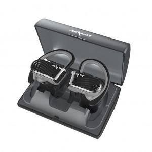 [True Wireless]ZEALOT H10 TWS Hanging Bluetooth 4.2 Earphones with Charging Box - Black Colour
