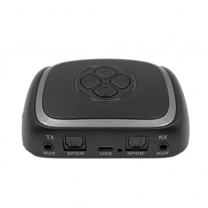 Bluetooth 5.0 CSR8670 Transmitter Receiver with Digital Optical TOSLINK and 3.5mm AUX Adapter